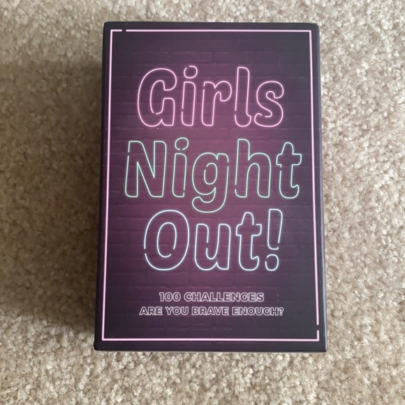 Girls Night Out Card Game